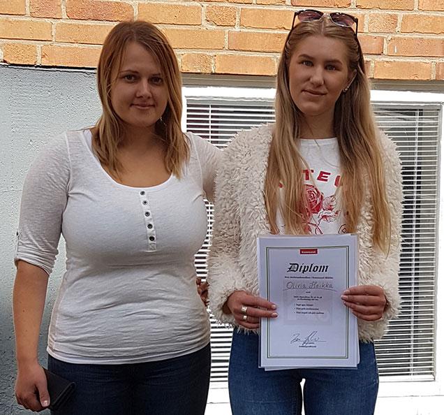 Kommunal delade ut ett stipendium