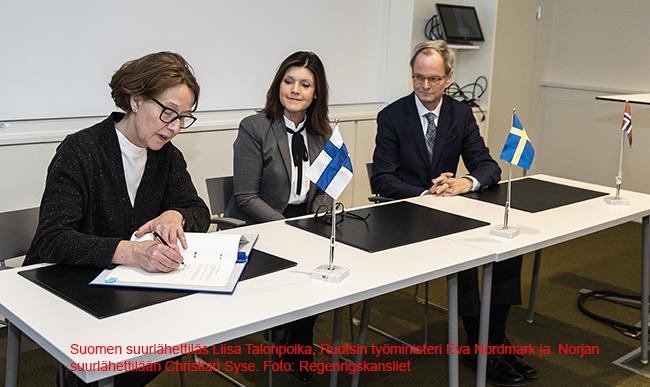 Koulutus Nordin uusi sopimus seuraavalle nelivuotiskaudelle allekirjoitettiin