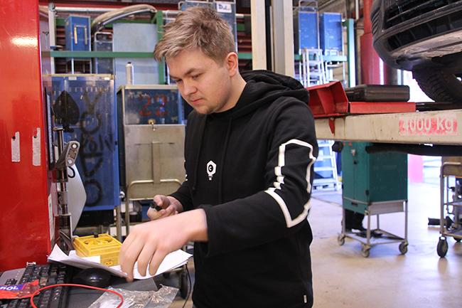 Jesse Muotka Koulutus Nordin oppilas