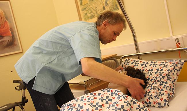 Helsevesenet var et naturlig valg for Magnus Bengtsson