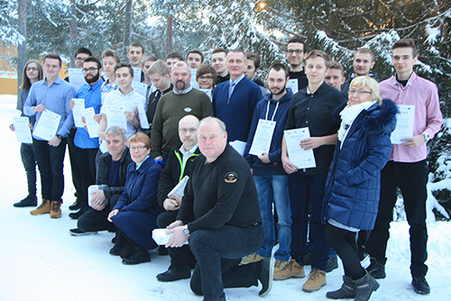 Twenty students from Poland have been studying at Utbildning Nord